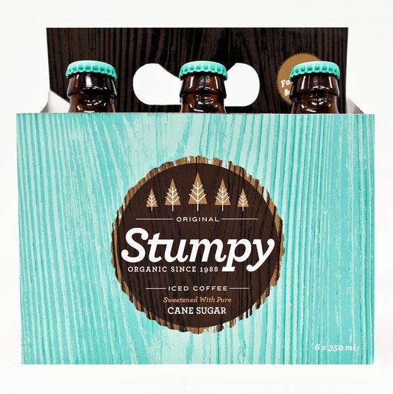 STUMPY packaging-  By Alex Westgate