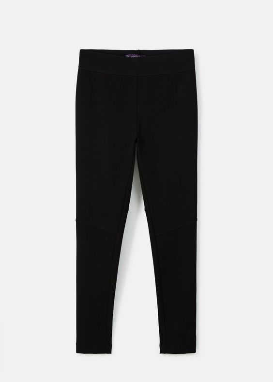 Leggings coutures décoratives | VIOLETA BY MANGO