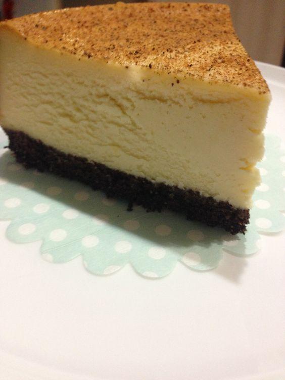New York Baked Cheesecake slice