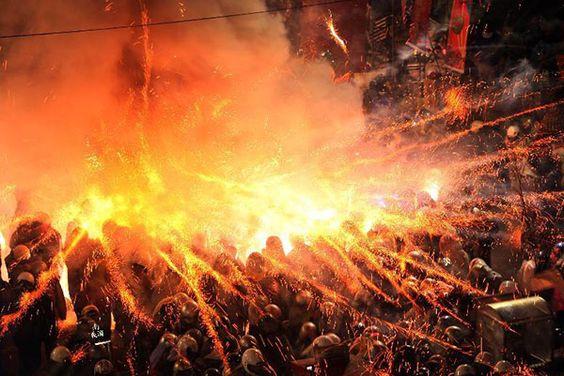 Lễ hội đốt pháo hoa tại Đài Nam