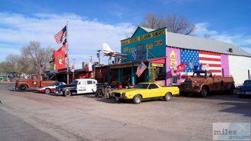 Souvenir Shop - Check more at http://www.miles-around.de/nordamerika/usa/arizona/main-street-of-america-route-66/,  #Arizona #Essen #Kingman #LostPlace #Reisebericht #Route66 #Seligman #USA