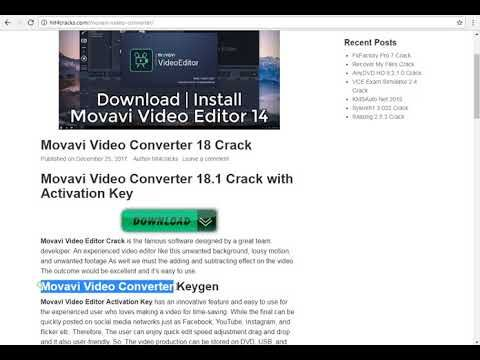 movavi video suite 14 activation key free
