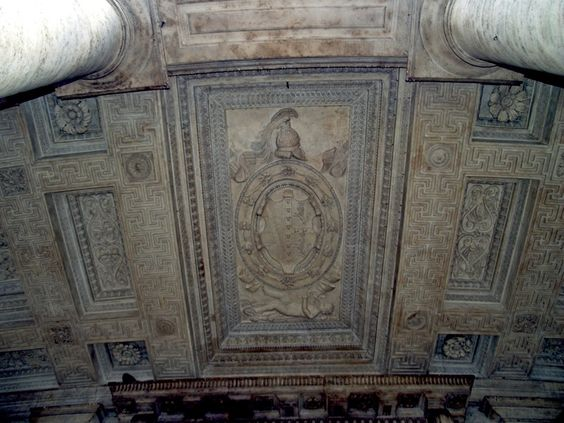 Coast of Arms of Massimo Family - Roman 'Black Nobility'