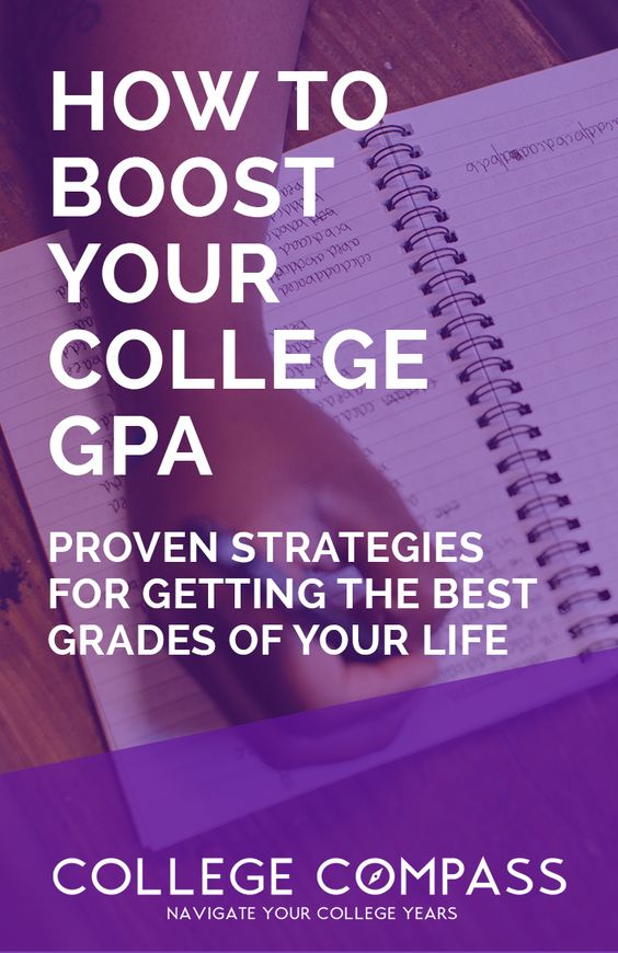 How to boost your college GPA! Every strategy you need in order to improve your grades and become a stellar student. | College Compass via @collegecompassc