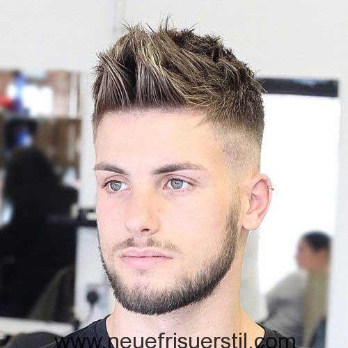 Undercut Stacheligen Frisur Herrenfrisuren Frisuren Rundes Gesicht Haarschnitt