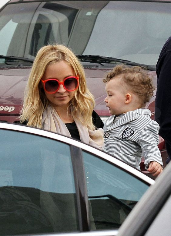 Nicole Richie and Their Kids at Harlow Madden's Third Birthday Party