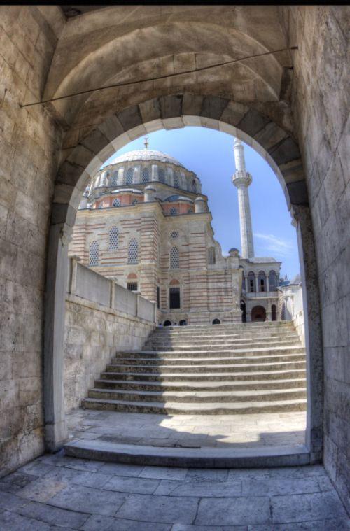 Mezquita de los Tulipanes, Estambul, Turquía