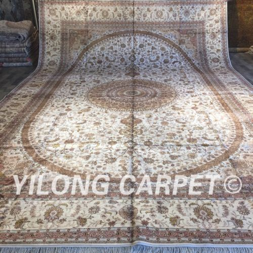 Yilong 12 39 X18 39 Handgemachter Silk Teppich Ausgangsdekor Landhaus Bereichsteppich Zw294m Us 43 200 00 In 2020 Warm Living Warm Home Decor Family Room Design