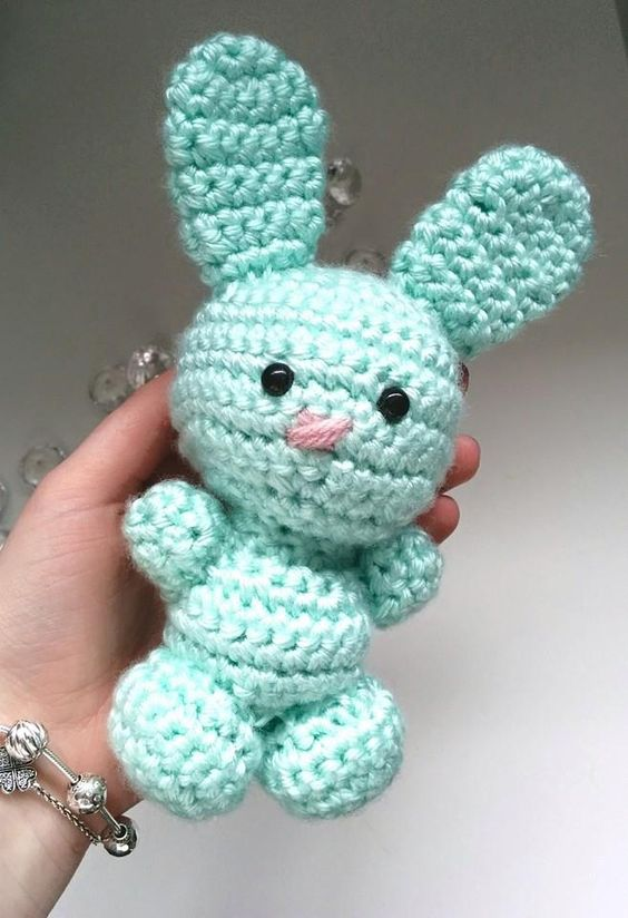 Free Crochet Amigurumi Bunny Rabbit Pattern Ricerca ...