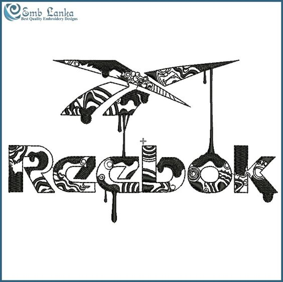 ressortissants de l'équipe Nike - Reebok Logo 7 Embroidery Design   emblanka.   embroidery logos ...