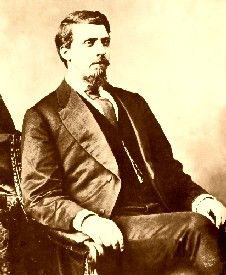 """Judge Isaac C. Parker (1838 - 1896) - Judge Isaac Parker, often called the """"Hanging Judge,"""""""