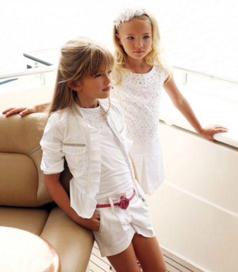 Blumarine, moda infantil, conjuntos y vestidos para niñas, moda colección de verano para niñas de Blumarine > Minimoda.es