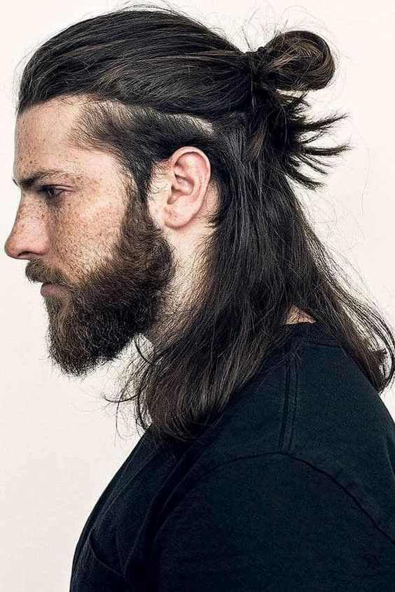 Coupe Samourai Cheveux Long Homme Coiffure Homme Long Coiffure Cheveux Long Homme Coupe Cheveux Homme