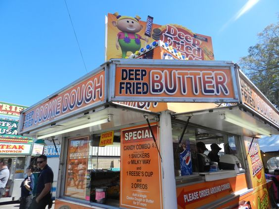 Just another menu item at the Florida State Fair 2014 #foodie #tampa #florida #fun
