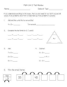 math worksheet : everyday math unit 2 review  second grade and math : Everyday Math Grade 3 Worksheets
