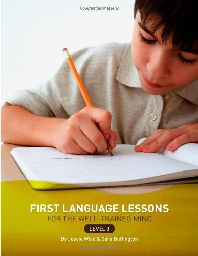 First Language Lessons for the Well-Trained Mind: Level 3 Instructor Guide (First Language Lessons) by Jessie Wise,http://www.amazon.com/dp/1933339071/ref=cm_sw_r_pi_dp_EC6Vsb1XQY4F81RS