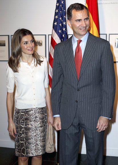 Los príncipes de Asturias inician en Nueva York su visita oficial a Estados Unidos