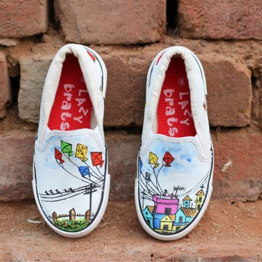 Canvas shoes, Kid shoes, Colorful shoes