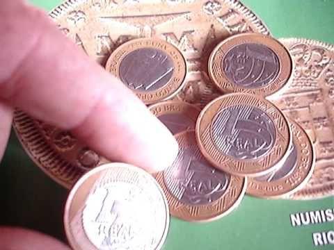 Moeda Rara De 1 Real 2005 Banco Central 40 Anos Vale 1500 Reais