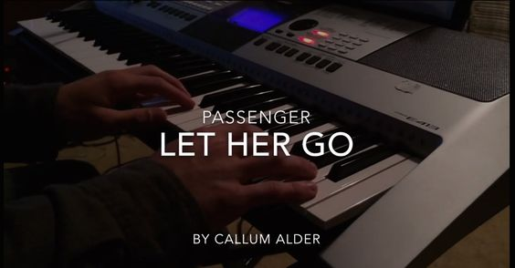 Let Her Go, Passenger, cover by Csallum Alder, probably my favourite cover song so far, such a  nice song, like and sub if you enjoy :)