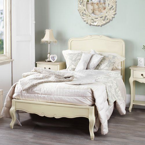 Lemaire Bed Frame Lily Manor Colour Champagne Size Super King