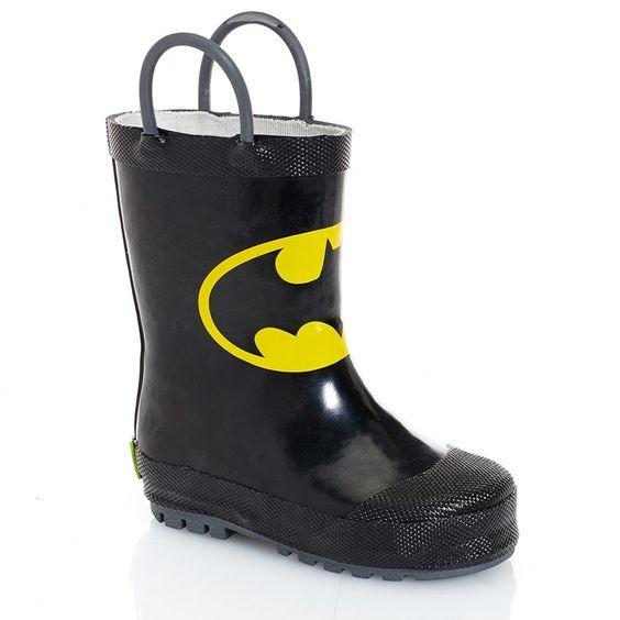 Batman Rain Boots - Boys size 11 | Christmas/Birthday Wish List