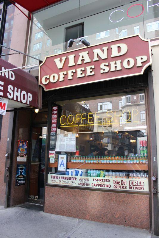 Viand Coffee Shop Un Diner 100 Americain Coffee Shop New York Nyc
