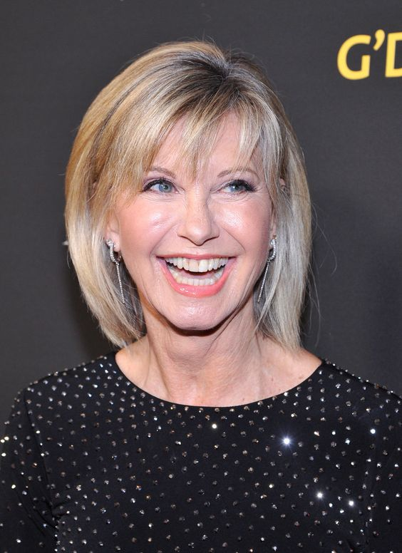Olivia Newton John attends the 2018 G'Day USA Black Tie Gala at InterContinental Los Angeles Downtown on January 27, 2018 in Los Angeles, California.