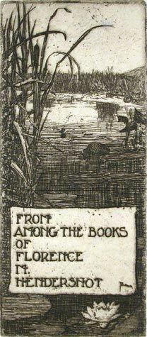 Antique Book Plate