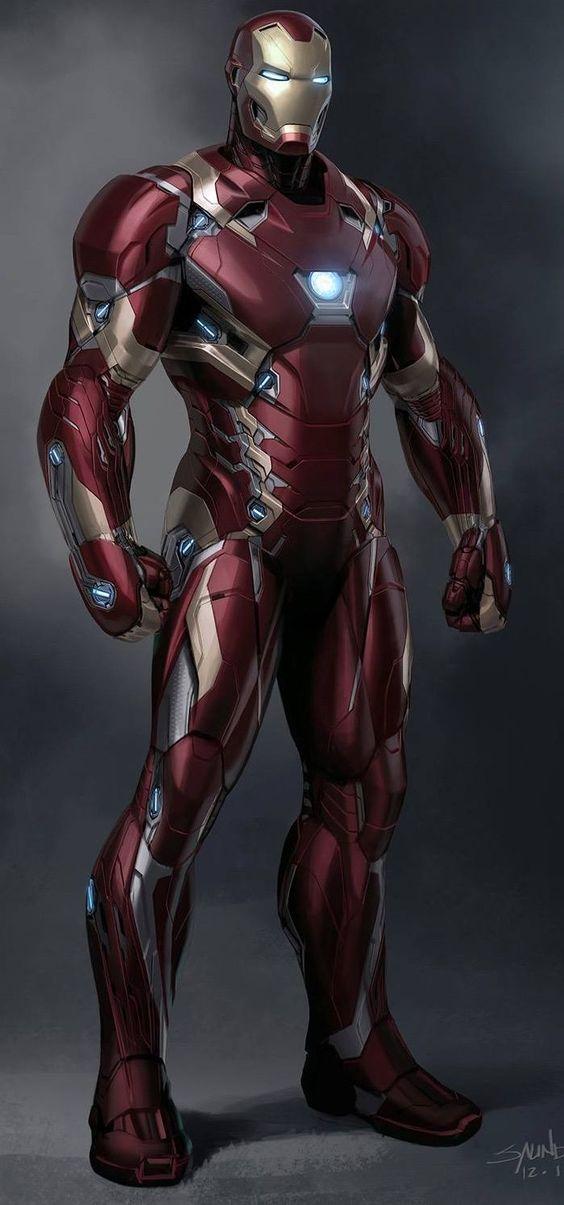 Iron Man Mark XLVI by Phil Saunders