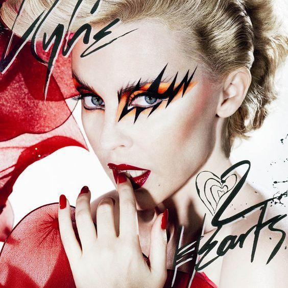 Kylie Minogue – 2 Hearts (single cover art)