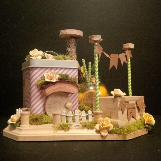 OOAK Fairy Shop: Lemonade in the Shade Stand