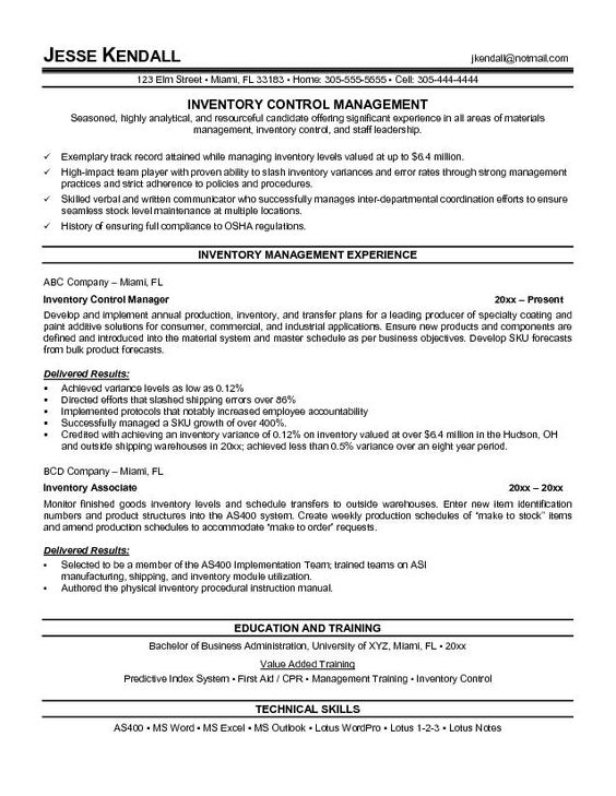 Warehouse Resume Template - http\/\/wwwresumecareerinfo\/warehouse - warehouse resume