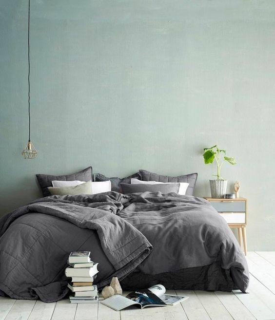 wandfarben schlafzimmer 2016 trendfarben pastellfarbe hellblau ...