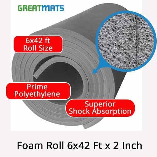 2 Inch Mma And Gymnastic Foam Rolls Foam Rolling Foam Martial Arts Floor