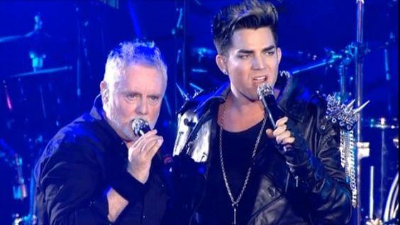 Adam Lambert and Queen Rock the Ukraine (Video)