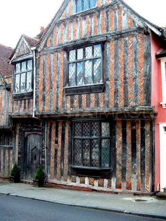 """Lavenham, England """"Godric's Hollow""""...if this is the inspiration for HP I must go there!"""