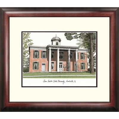 Campus Images NCAA Sam Houston State Alumnus Lithograph Framed Photographic Print