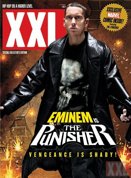 Eminem : a CLONE   the punisher XXL - this i this is real eminem? reallyyy naah ..wtf this is a fake
