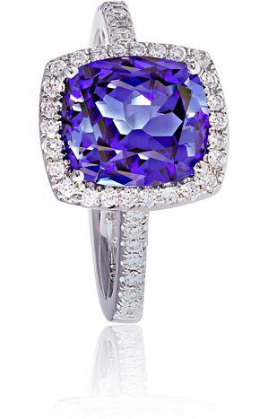Tanzanite and Diamond Ring, Beards Jewellers