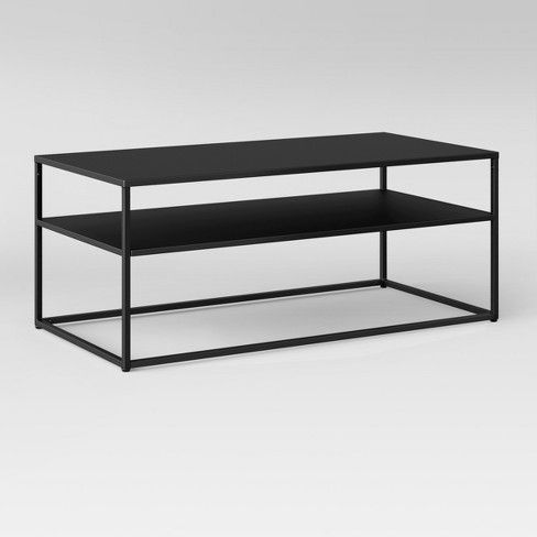 Glasgow Metal Coffee Table Black Project 62 Coffee Table