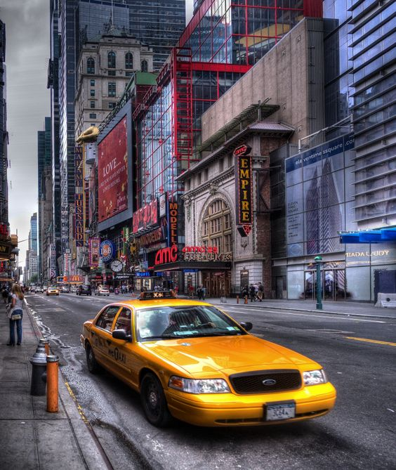 NYC Taxi #hdr