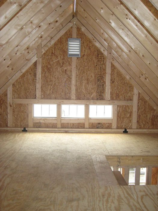 Shed with loft story sheds storage sheds wood tex for Barn plans with loft