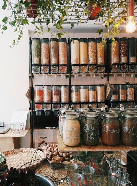 Goodbye Plastic London S First Zero Waste Supermarket Has Opened Zero Waste Store Zero Waste Kitchen