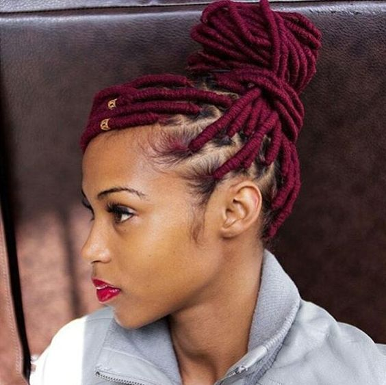 Super African Hair Braiding African Hair And Bang Braids On Pinterest Hairstyle Inspiration Daily Dogsangcom