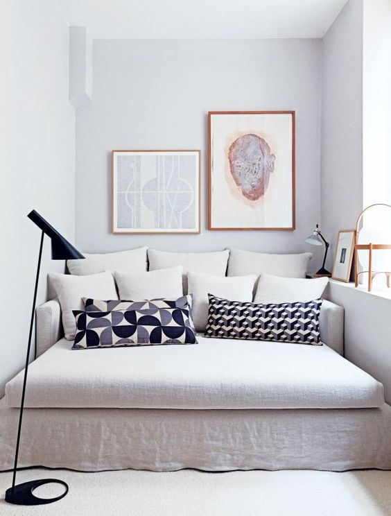 Apartamento en Lyon de colores fríos (y detalles de ensueño) | Ebom