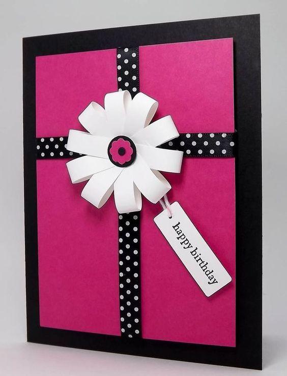 Make A Simple Handmade Birthday Card Greeting Cards