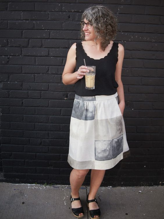 Fancy Tiger Crafts: An Everyday Skirt for Everyday: Tiger Crafts, Everyday Fancy, Sewing Crafts, Pattern Everyday, Crafts Pattern, Craft Patterns, Fancy Tiger