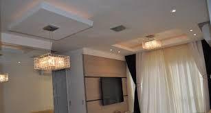 sala lustre gesso apartamento - Pesquisa Google