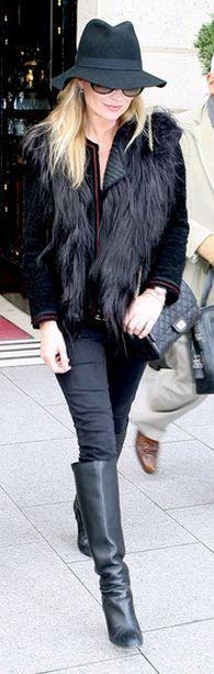Street Style, Kate Moss /robinettekelly: